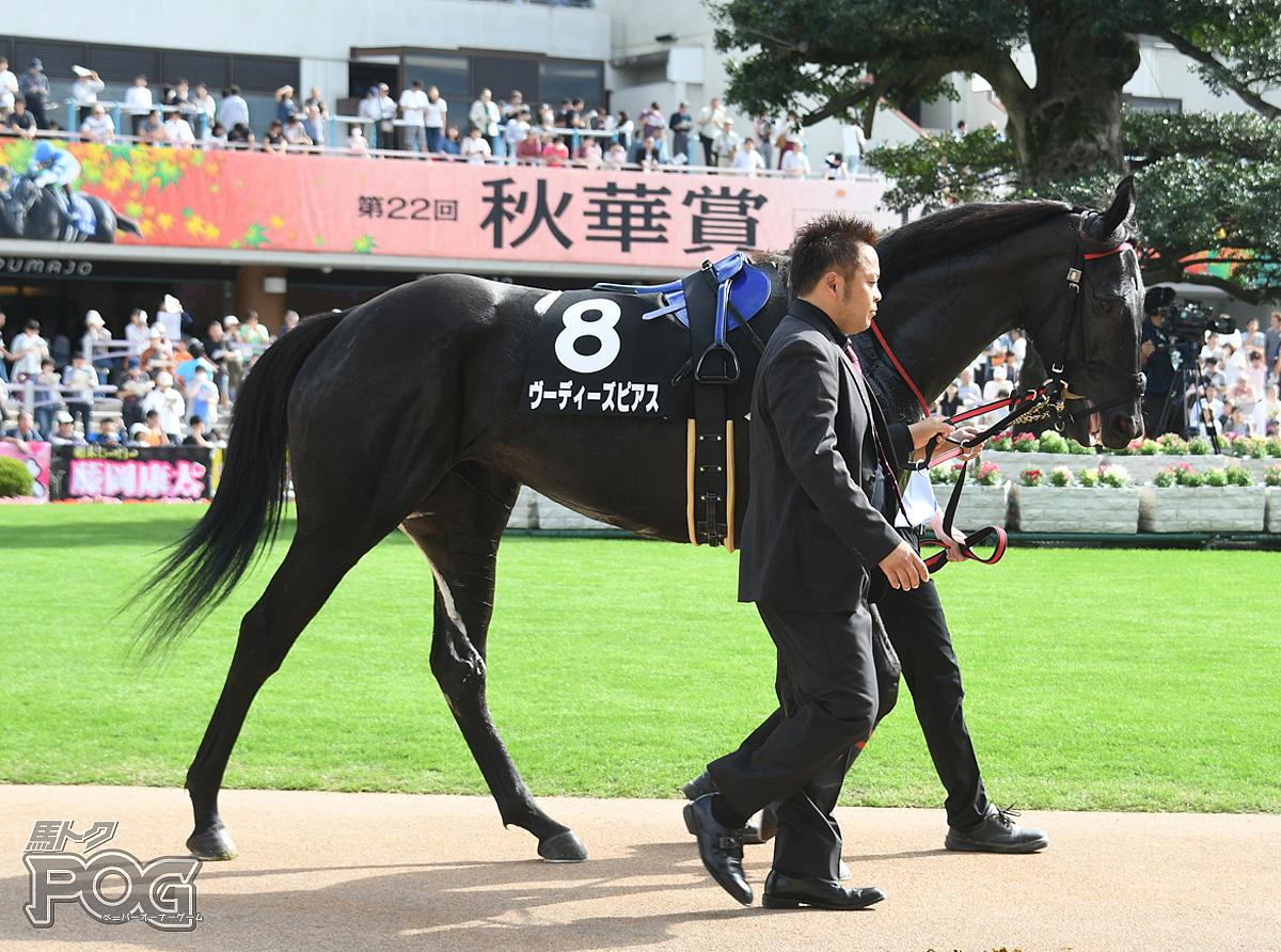ヴーディーズピアスの馬体写真