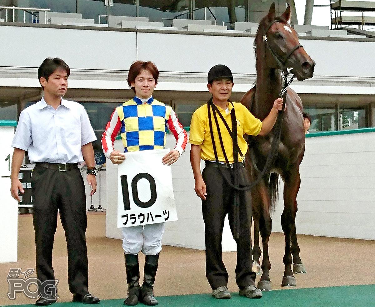 ブラウハーツの馬体写真