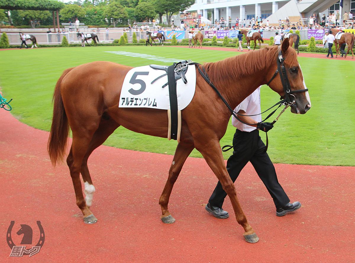 アルデエンブレムの馬体写真