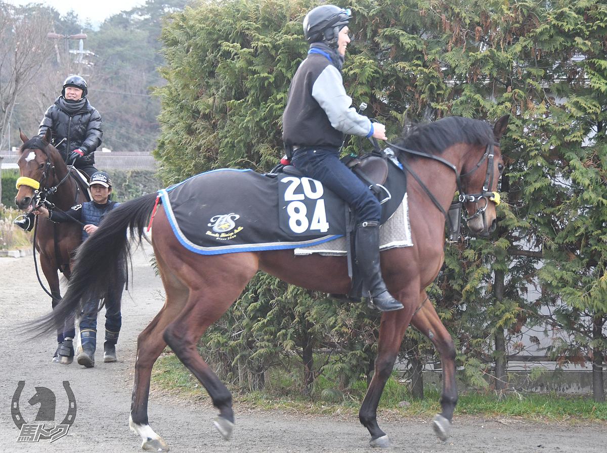 ドゥオンフルールの馬体写真